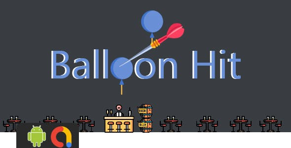 Balloon Hit - Android Project + Admob