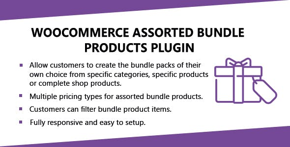 WooCommerce Assorted Bundle Products Plugin - CodeCanyon Item for Sale