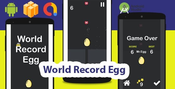 World Record Egg - Buildbox Project + Admob - CodeCanyon Item for Sale