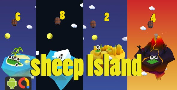 Sheep Island - Android Project + Admob - CodeCanyon Item for Sale