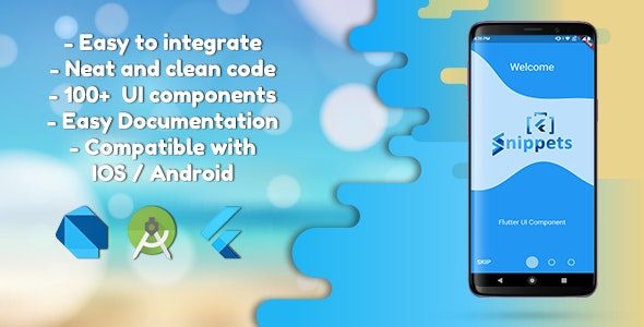 Flutter UI Components - CodeCanyon Item for Sale