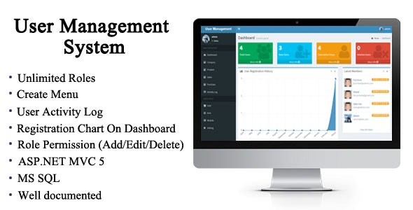 User Management System in ASP.NET MVC 5 - CodeCanyon Item for Sale