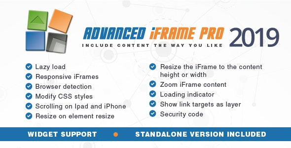 Advanced iFrame Pro by mdempfle | CodeCanyon