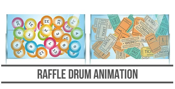 Raffle Drum Animation