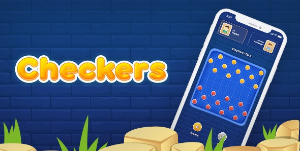 Checkers - Multiplayer Online iOS - CodeCanyon Item for Sale