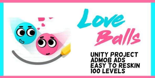 Love Balls Game - Unity Project with Admob