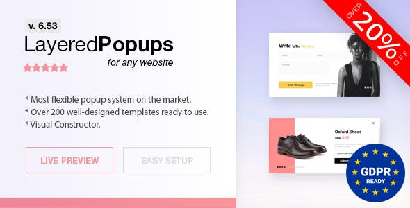 Layered Popups - Standalone Popup Script        Nulled