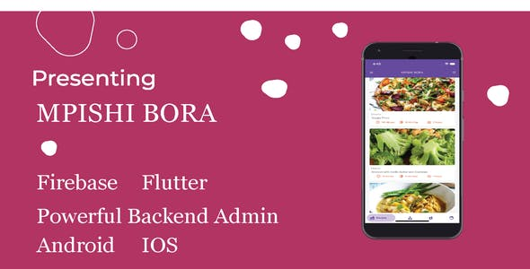 Flutter Material Recipe Android App - CodeCanyon Item for Sale