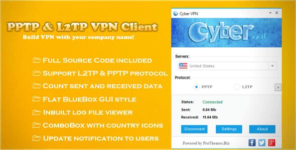 PPTP & L2TP VPN Client - CodeCanyon Item for Sale