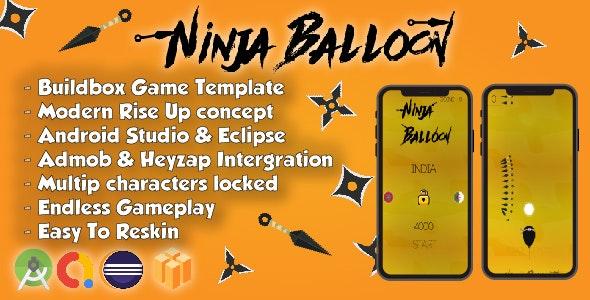 Ninja Balloon - Android Studio & Buildbox Game Template (64bit) - CodeCanyon Item for Sale