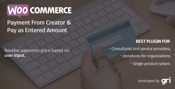 WooCommerce Payment Form Creator & Pay as Entered Amount