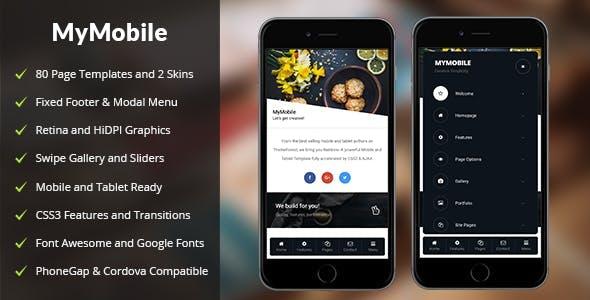 MyMobile Mobile | PhoneGap & Cordova Mobile App