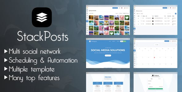 Stackposts - Social Marketing Tool - CodeCanyon Item for Sale
