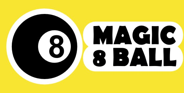MAGIC 8 BALL  - Html5 Mobile Game - android & ios