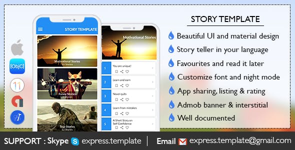 Story Template for iOS