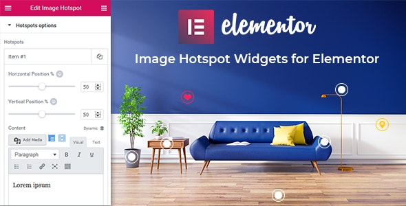 Image Hotspot Widgets for Elementor - CodeCanyon Item for Sale