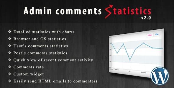Admin comments statistics
