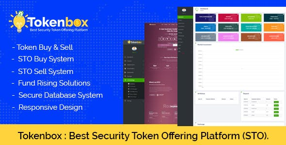 Tokenbox - Best Security Token Offering Platform (STO)