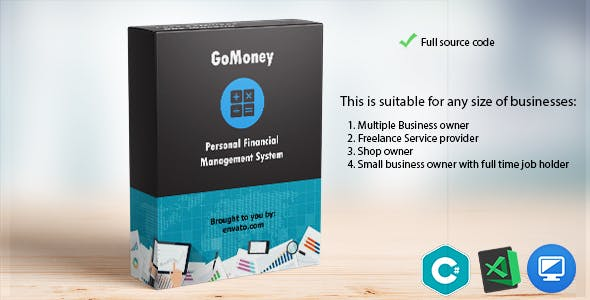 GoMoney- Personal Financial Management System  C#