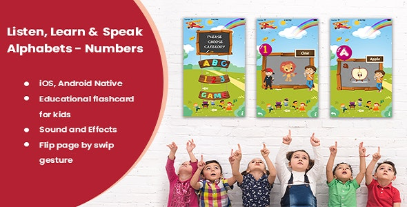 Kids eLearning and Game App - CodeCanyon Item for Sale