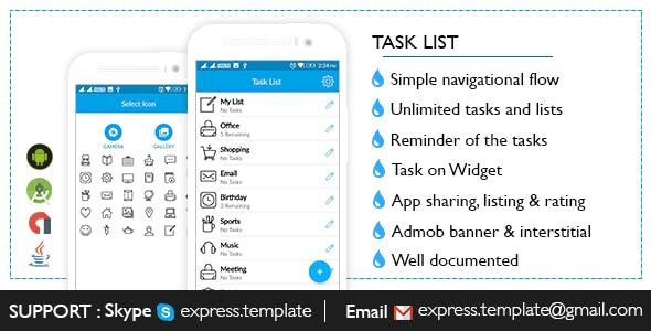 Task list ToDO for Android