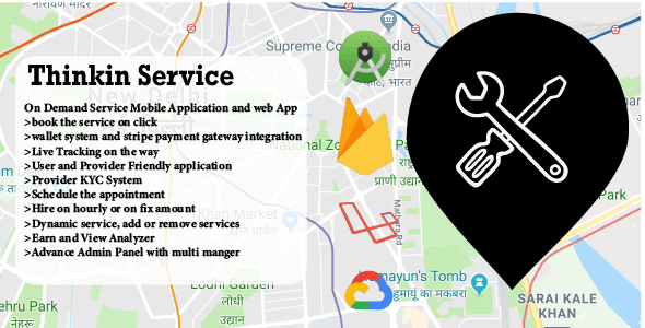 Thinkin Services | On Demand Service App | Urbanclap Clone - CodeCanyon Item for Sale