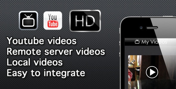 Video Streamer (Youtube, Remote and Local Videos) - CodeCanyon Item for Sale