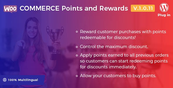 WooCommerce Points and Rewards - WordPress Plugin
