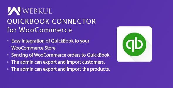 QuickBooks Connector for WooCommerce - CodeCanyon Item for Sale