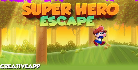 Super Hero Escape (Buildbox 2.3.3 - Admob + android studio)