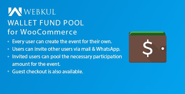 Wallet Fund Pool for WooCommerce - CodeCanyon Item for Sale