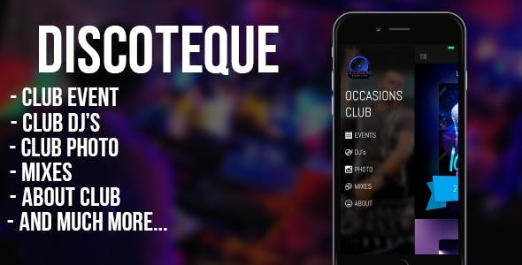 DISCOTEQUE - for night clubs, bars, discos, DJs (iOS)