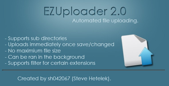 EZUploader - Automated FTP Uploading - CodeCanyon Item for Sale