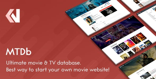 MTDb - Ultimate Movie&TV Database        Nulled