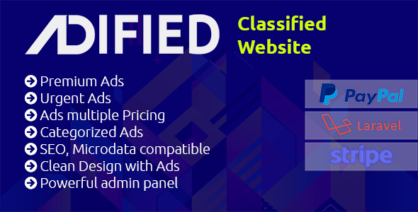 Adified - Flexible, Powerful Premium PHP Classified Application - CodeCanyon Item for Sale