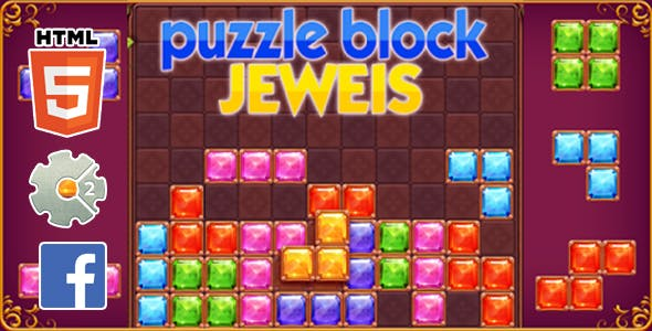 New Puzzle Blocks HTML5 GAME INSTANT+ FB ADS+ READY FOR PUBLISH