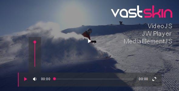 VastSkin for JW Player, VideoJS, MediaElementJS