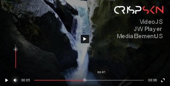 CrispSkin for JW Player, VideoJS, MediaElementJS - CodeCanyon Item for Sale