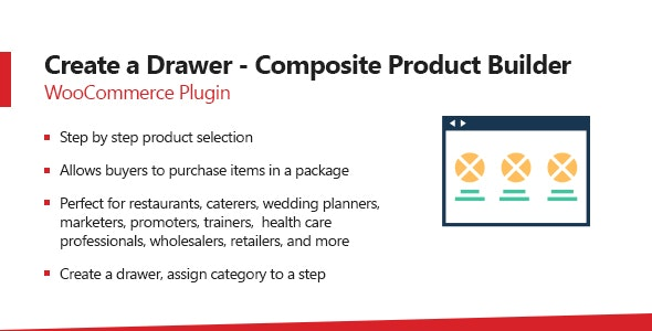 WooCommerce Create A Drawer - Composite Product Builder Plugin - CodeCanyon Item for Sale