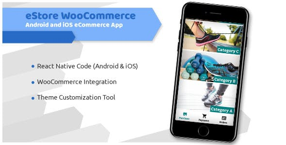 eStore WooCommerce - Android and iOS eCommerce App