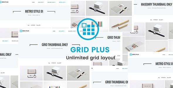 Grid Plus - Unlimited Grid Layout