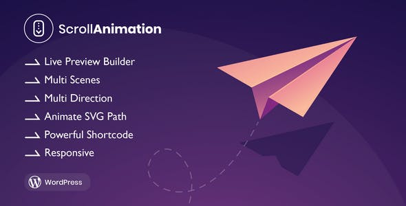 Scroll Animation - Scroll Magic for WordPress