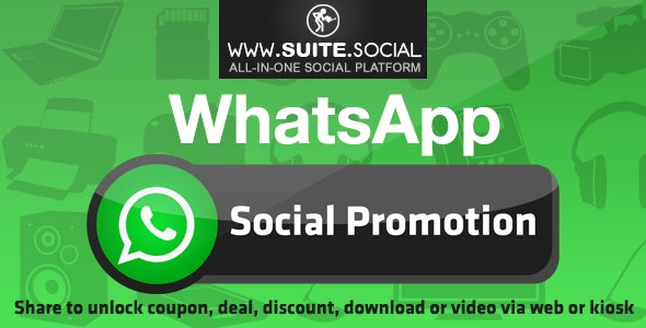 WhatsApp Promotion: Sharer, Viral and Marketing Social Script - CodeCanyon Item for Sale