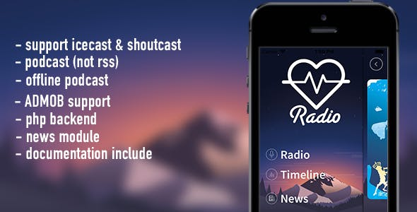 Lov Radio Bundle ( android & ios pack)