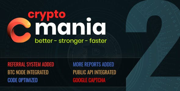 Cryptomania Exchange Pro 2 - cryptocurrency trade