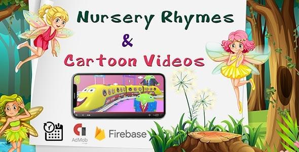 4Toon - Cartoon videos & Rhymes Kids App - CodeCanyon Item for Sale