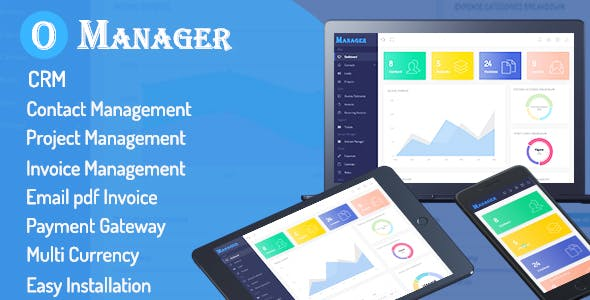 Office Manager - CRM & Billing Management Web Application