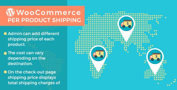 WordPress WooCommerce Per Product Shipping Plugin