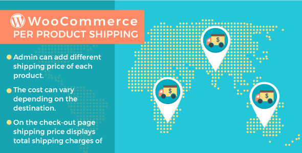 WordPress WooCommerce Per Product Shipping Plugin - CodeCanyon Item for Sale