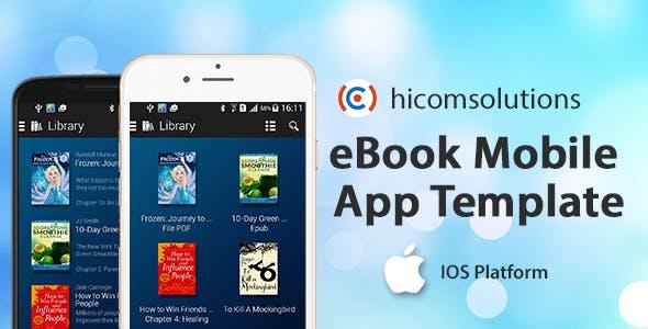 eBook Mobile - iOS App Template